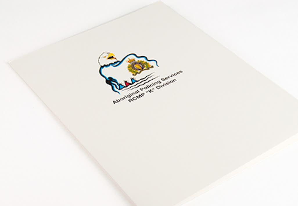 Glossy Uv Coated Coating Pocket Folders