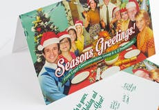 Custom greeting cards personalized printing services primoprint choose a finish or style to view product pricing and options glossy uv coated greeting cards m4hsunfo Choice Image